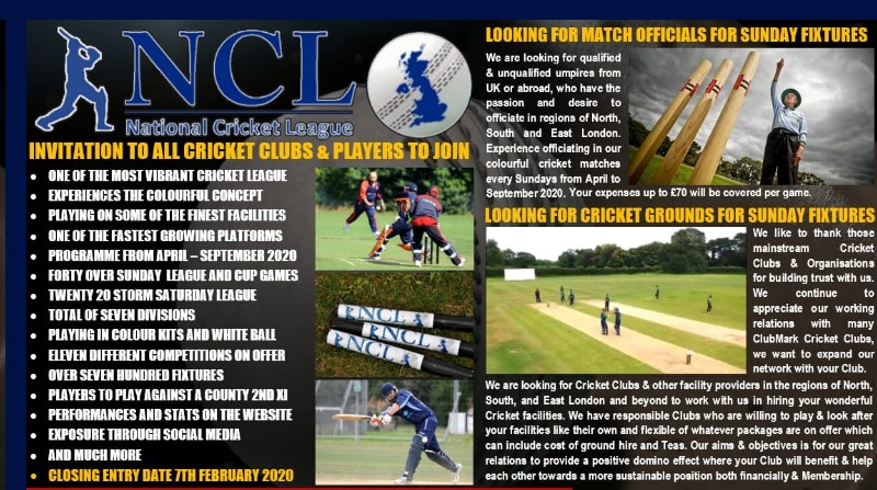 National Cricket League NCL